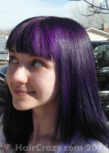 Deep Purple Special Effects Hair Dye Haircrazy
