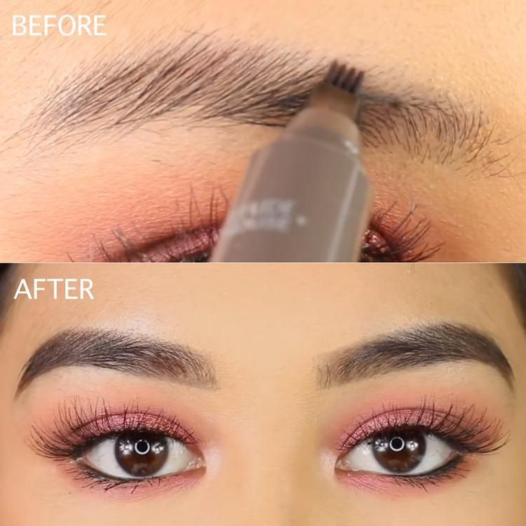 Beauty & Health Eyebrow Enhancers Official Website Hot Sale Microblading Eyebrow Tattoo Pen Waterproof Eye Makeup 3 Colors Easy Use Eyebrow Pen Deep Color Pencil Eyebrow