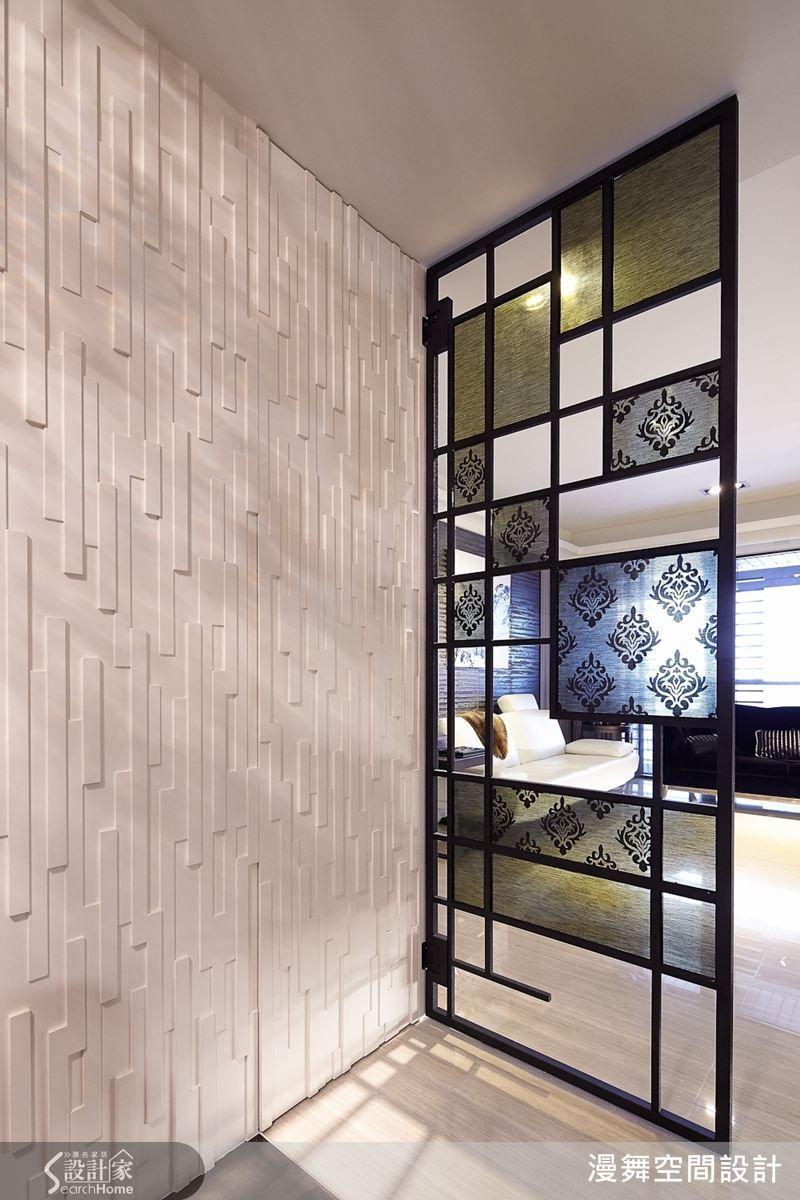 徹底享受奢華渡假宅 讓收納小兵來立大功 Wall Design Partition Screen Interior