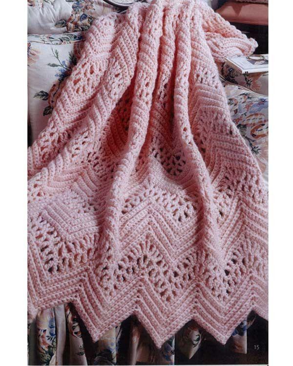 Learn to Crochet Ripple Afghans | Patrones, Imágenes y Diseño