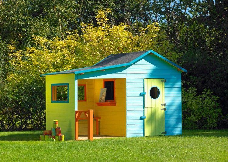 cabane en bois pour enfants hacienda cerland - Cabane De Jardin En Bois Pour Enfant