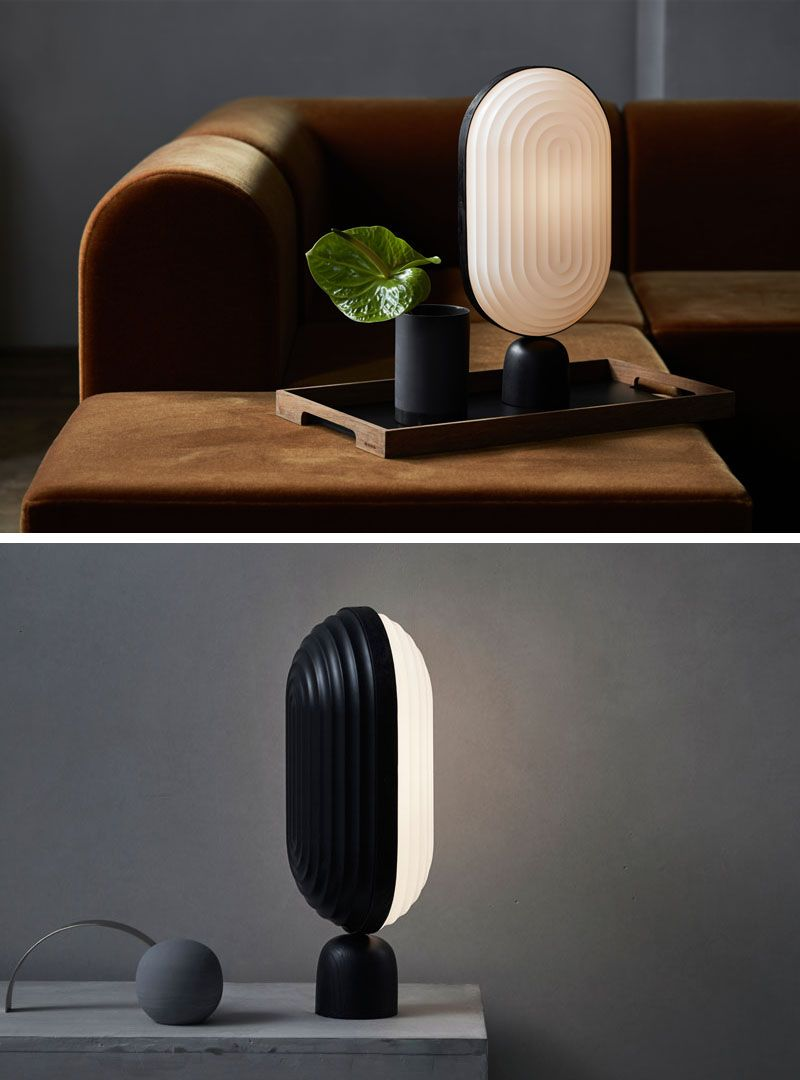 the arc lighting collection takes inspiration from architectural