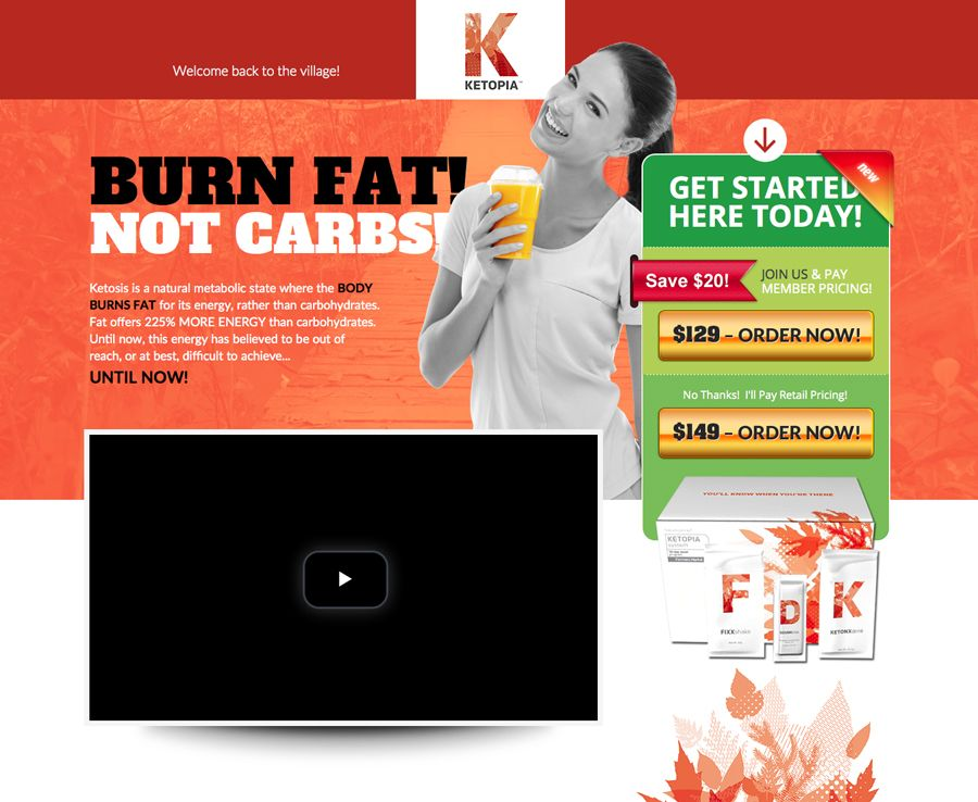 Having difficulty getting into ketosis on your own? Not anymore! Ketopia is an all natural, easy way to get into ketosis within 1-3 hours. Fat burning and getting healthy at it's finest. Please visit http://theketoliferx.fgxpress.com/#/ketopia