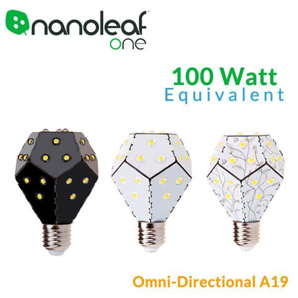 Nanoleaf One 12 Watt 100 Watt Equivalent Omni Directional Led Bu Led Bulb Led Light Bulbs Led Replacement Bulbs