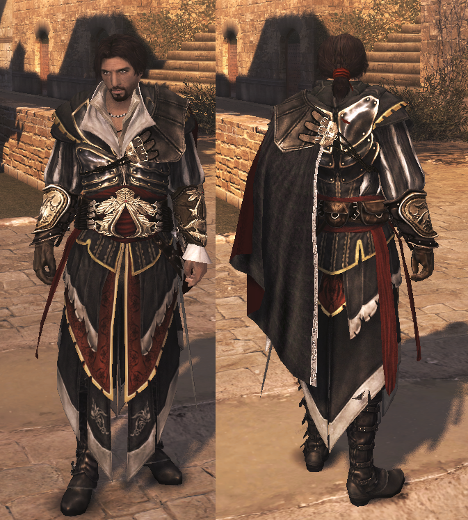 Assassins Creed Ezio In Altair Armor Assassins Creed Assassins