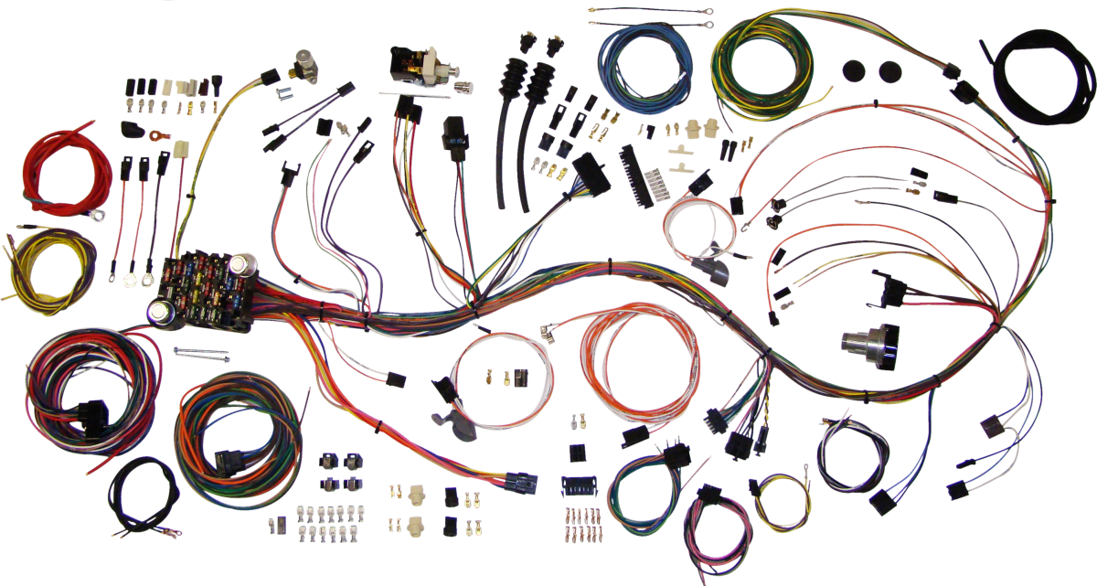 23623a4f852f7e67f91611a644d30393 classic update wiring harness kit for 69 72 chevy blazer & gmc gmc truck wiring harness at fashall.co