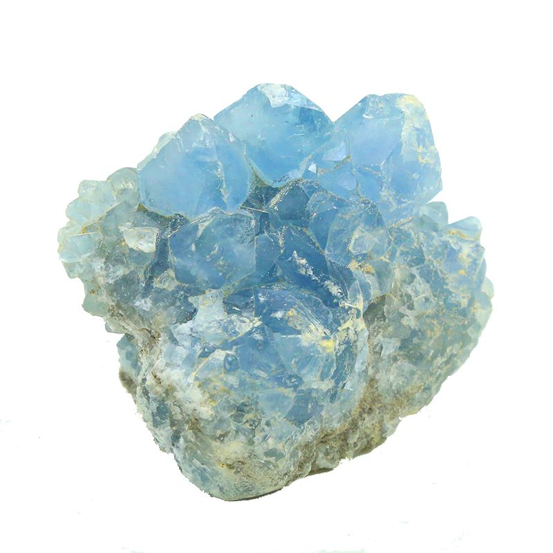 Astral Travel GeoFossils Celestine//Celestite Crystal Cluster access Akashic records