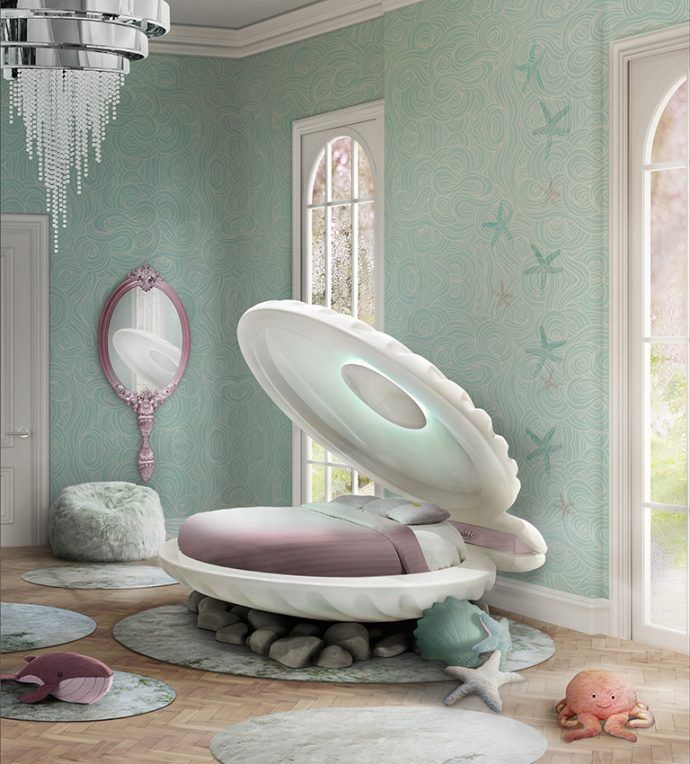 Beau 4 Amazing Kids Products That Will Make You Smile   Interior Desire   Clam  Shell Kids Bed By Circu.net