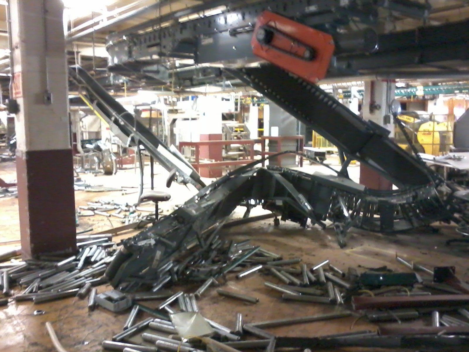 Scrapped Conveyor Belt In Building 33 Tm 2012 Chocolate Factory Hershey Factory American Chocolate