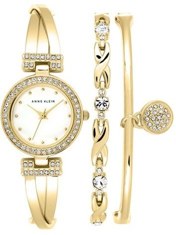 c80e9cb89e9daf Anne Klein Watch   Bangles Set