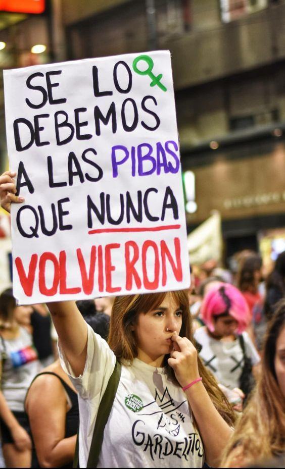 Pancartascarteles Feministas Aborto Legal Mujer