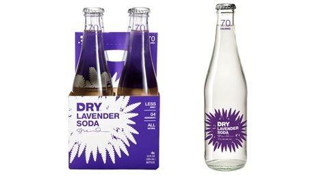 Lavender DRY Soda 24-Pack