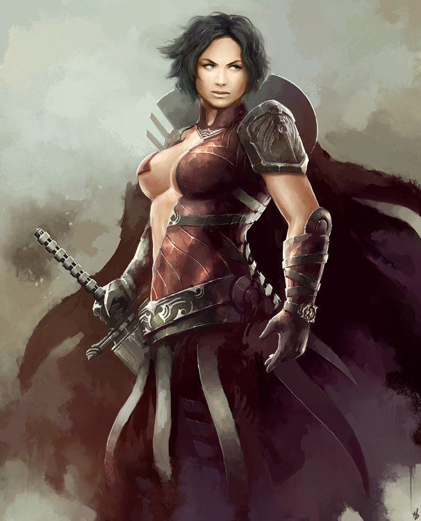 Nakek warrior women #2