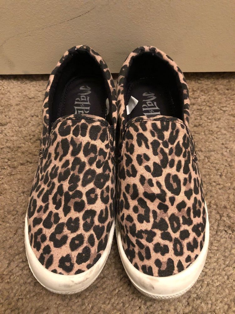 Mad Love Leopard Print Women's Slip-on