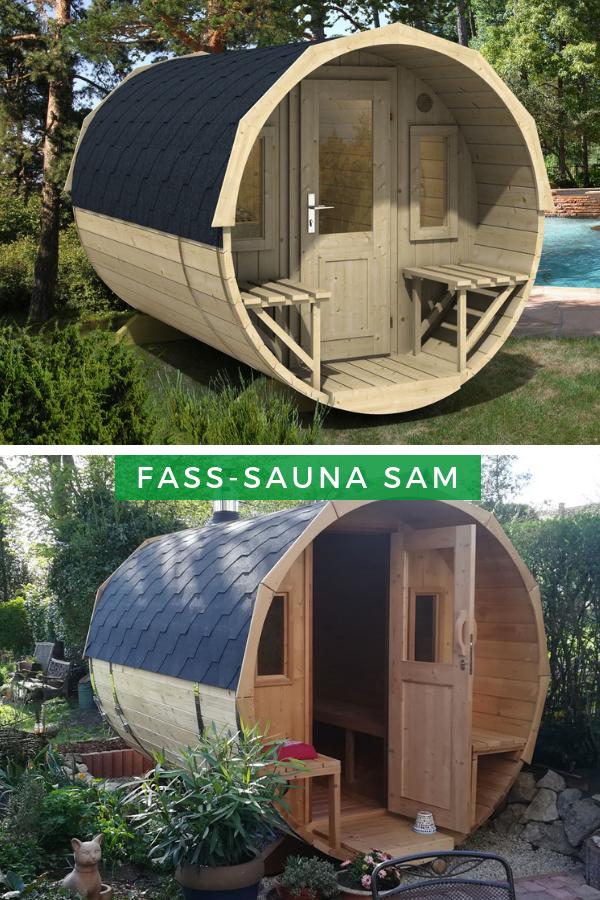 Finntherm Fass Sauna Sam In 2019 Eine Sauna Für Den Garten