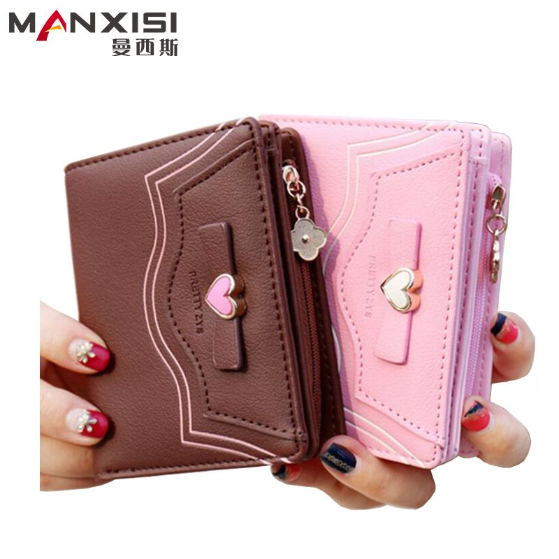 $17.54 (Buy here: http://appdeal.ru/87qo ) New Women Wallets Brand Design High Quality Butterfly Small Female Purse PU Leather Wallet Ladies Clutch Coin Purse Bolso Mujer for just $17.54