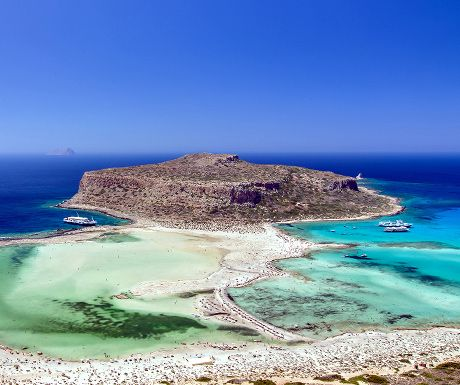 Photograph of the week: The exotic beach of Balos lagoon in Chania, Crete