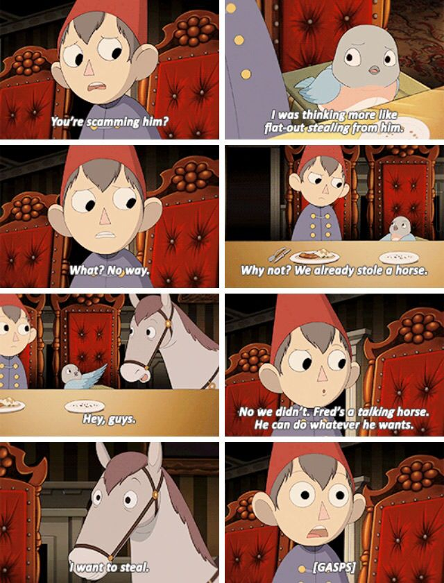 This Was One Of The Most Hilarious Scenes In Otgw Over Garden Wall Art