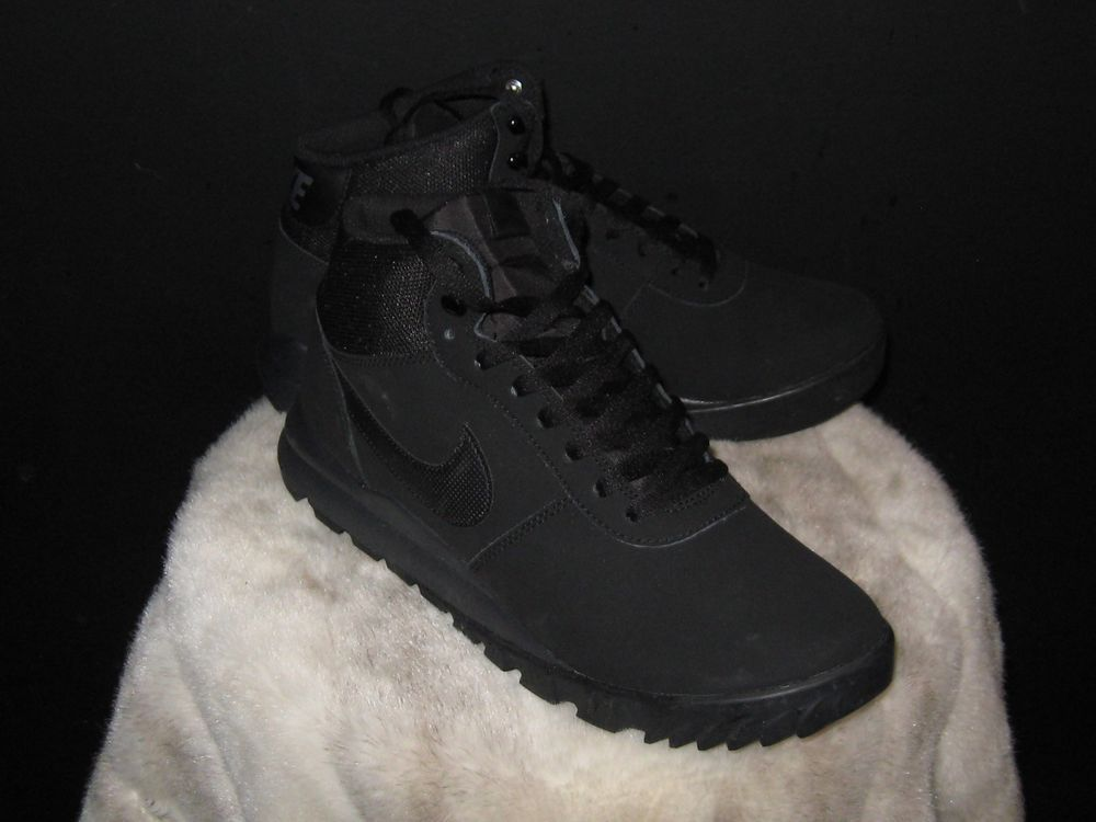 ccce2116b517 Men s Nike HOODLAND Hiking Boots Sz 10 Black Black-Anthracite 654888-090   Nike  HikingTrail  country  countryliving