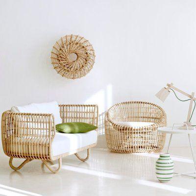 Mobilier Lounge Nest De Design Ikonik Meuble Rotin Mobilier De Salon Canape Rotin