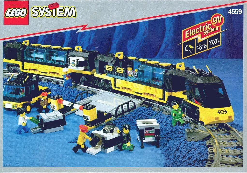 My Train Old Lego Instructions Letsbuilditagain Art I Want