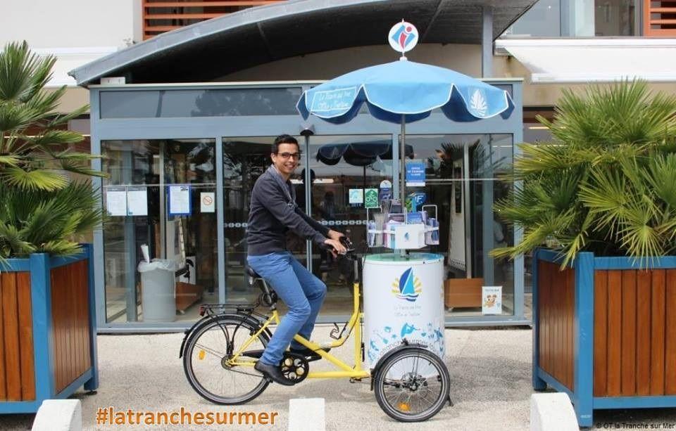 Le trip wagon de l 39 office de tourisme de la tranche sur mer v los pinterest bike food et bike - La tranche sur mer office de tourisme ...