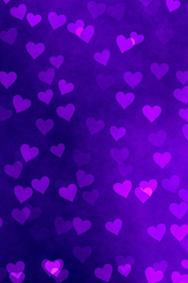 Iphone Wallpaper Purple Google Search Purple Wallpaper Heart