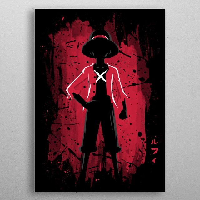 'Pirate Stain' Poster by Alberto Perez | Displate
