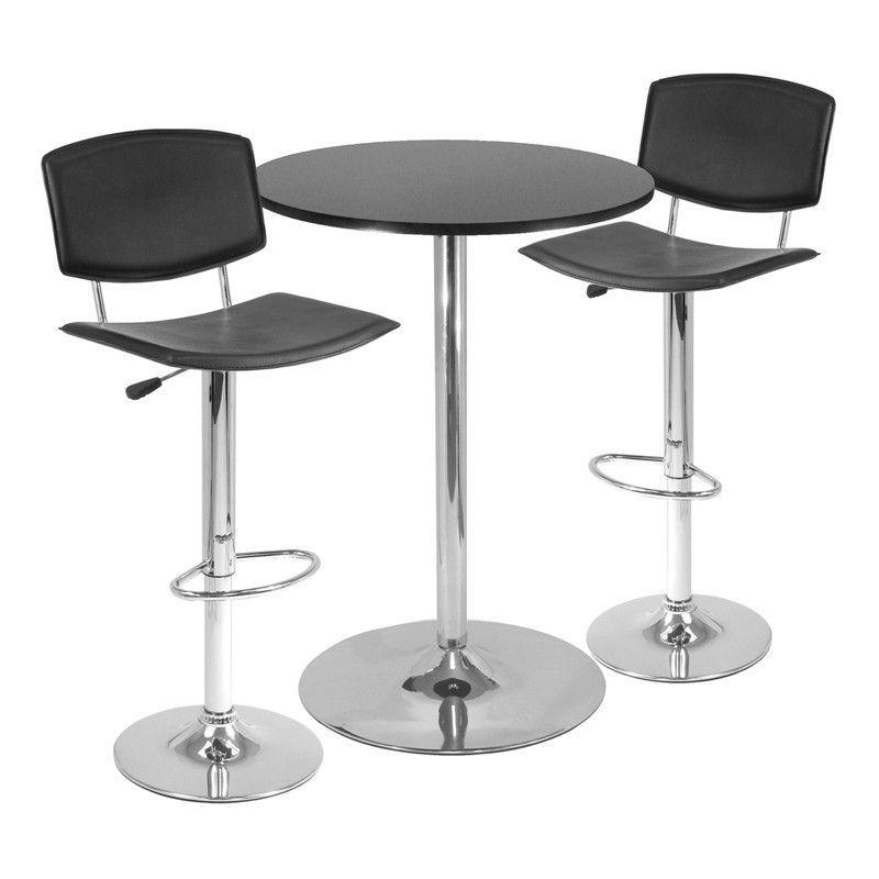 7992775763d0 Winsome Wood 93340 Spectrum 3pc Pub Table Set