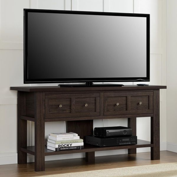 Altra Apothecary 55 Inch Tv Stand Console Table Ping Great Deals On Entertainment Centers