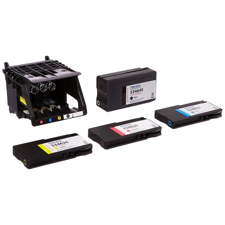 Primera LX2000 4-Color Ink Cartridge and Printhead Kit