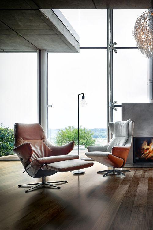 Zieht einem den Boden unter den Füßen weg: Sessel Contur Teramo von ...