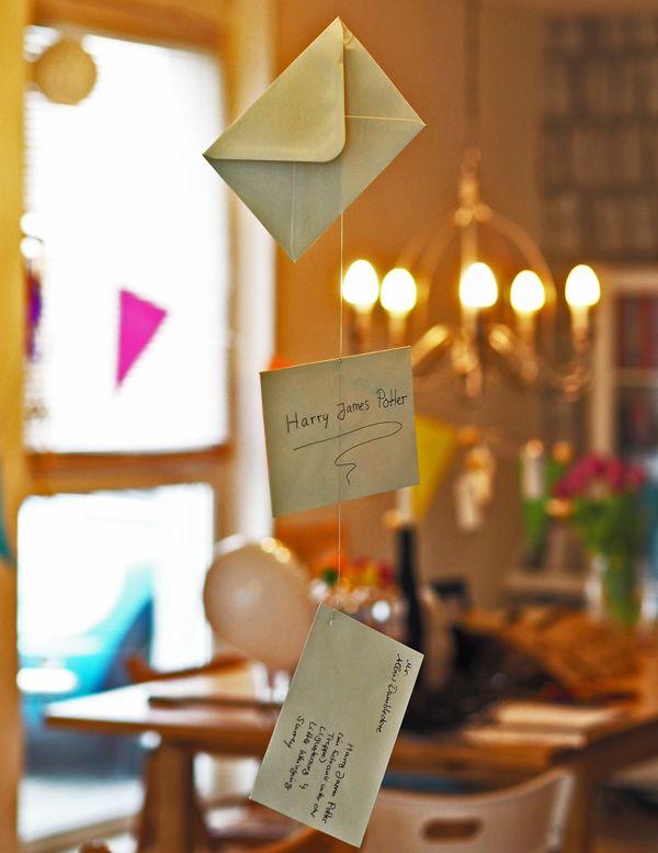 einfache g nstige ideen f r einen harry potter kindergeburtstag briefumschlag harry potter. Black Bedroom Furniture Sets. Home Design Ideas