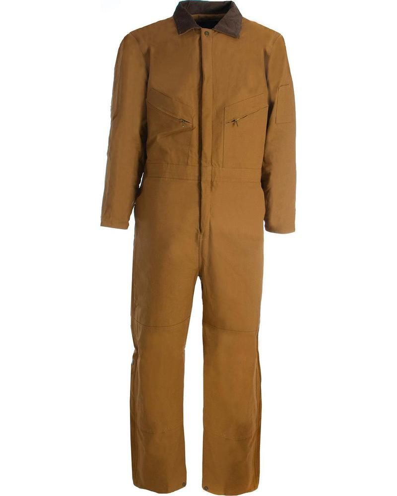 details about berne duck deluxe insulated coveralls on insulated work overalls id=69904
