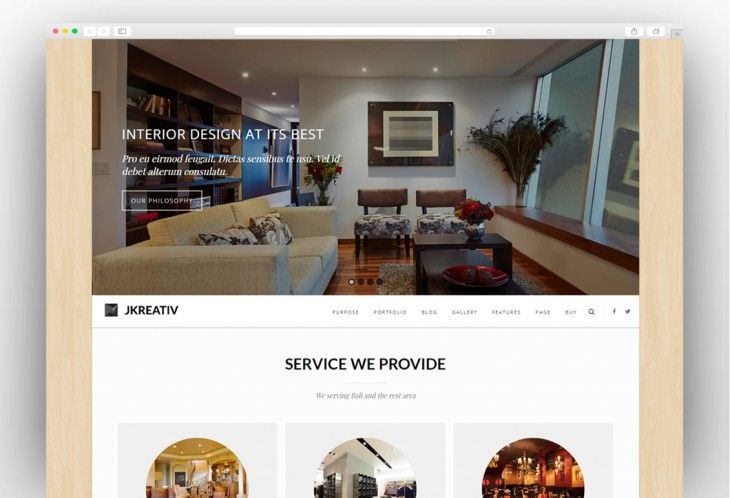 Best Interior Design Wordpress Themes 2019 With Images Best