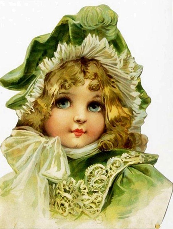 Frances Brundage - The Green Bonnet