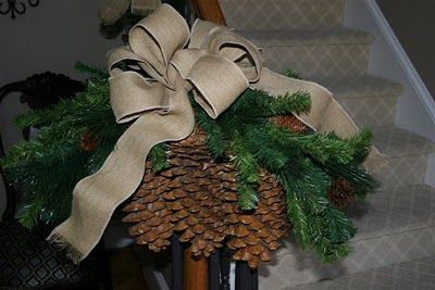 Simply LKJ: Outdoor Christmas Decor and Front Staircase~