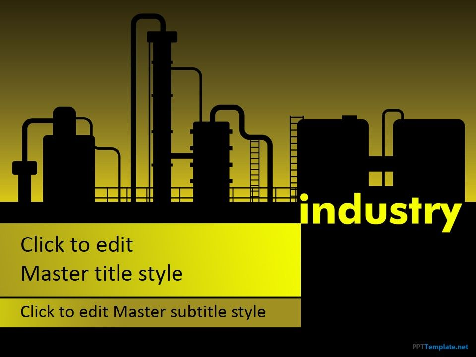 Free Manufacturing Industry Ppt Template      Ppt