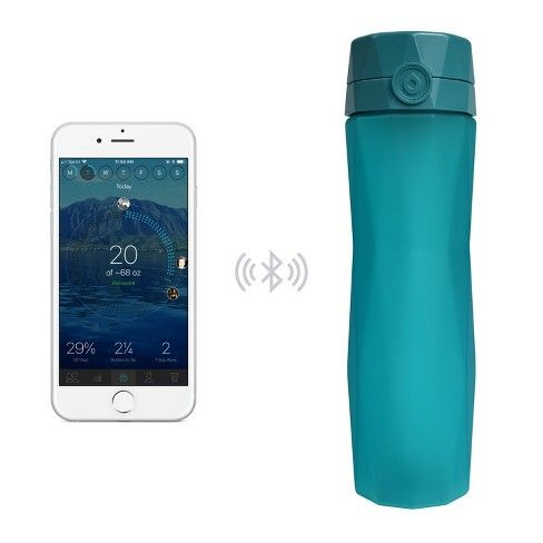 Hidrate Spark 2.0 is a smart water bottle that connects to