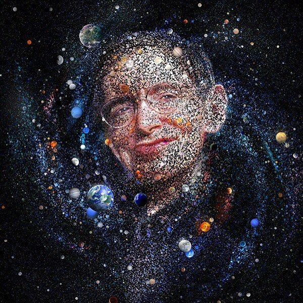 Stephen Haking By Charis Tsevis For Monet Mag Stephen Hawking Fine Art Prints Art Prints
