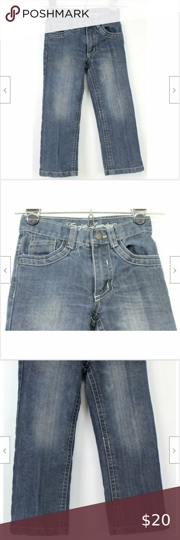 English Laundry Jeans Kids Sz 4 Denim Straight Leg In 2020 With
