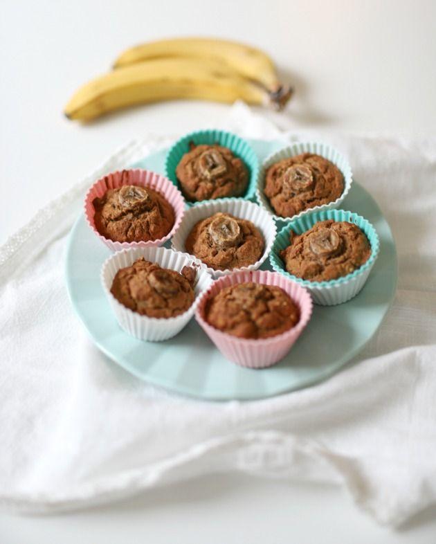 Terveelliset Banaanimuffinssit