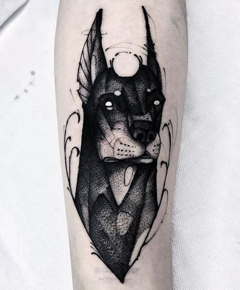 Photo of The 14 Best Unusual Tattoo Designs For Doberman Pinscher Lovers