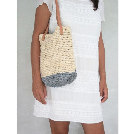 b39767e4997a3 Small Bag Small Beach Bag by MOOSSHOP on Etsy