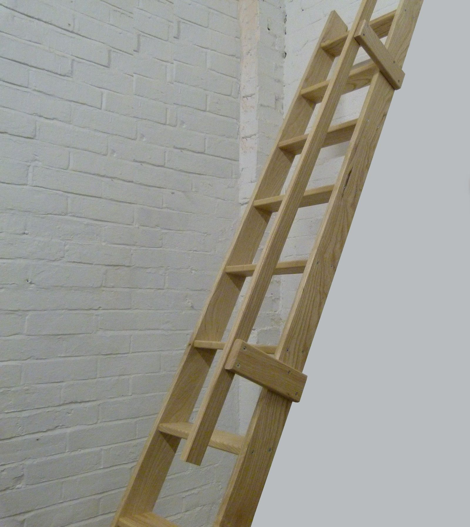 Best Ash Straight Flight Wooden Ladder Asf Complete With 400 x 300