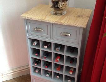 comment cr er un range bouteilles ou un casier vin range bouteille casiers et comment cr er. Black Bedroom Furniture Sets. Home Design Ideas