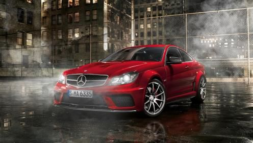 Red Mercedes Wallpaper 133139 Hd Wallpapers