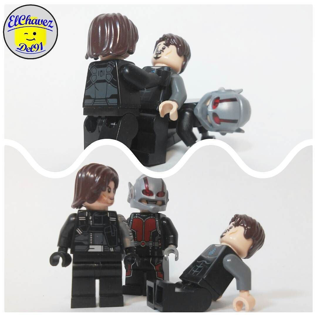 #BuckyBarnes y #Antman le hace #bullying a #TonyStark            #Lego #legos #legostagram #legophoto #legophotography #minifigures #minifiguras #legoland #legomania #legomonterrey #legoworld #bricks #brick #AFOL #AFDL #AdultoFanáticoDeLego #LegoElChávezDel91           .............................. #29Abril2016 7:15 am by elchavezdel91