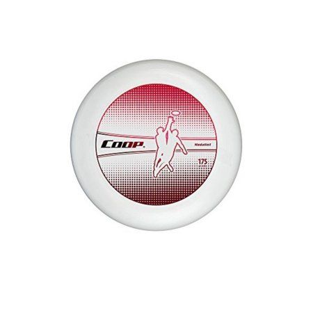 Metallic Red and White Medalist 175G Water Resistant Flying Disc