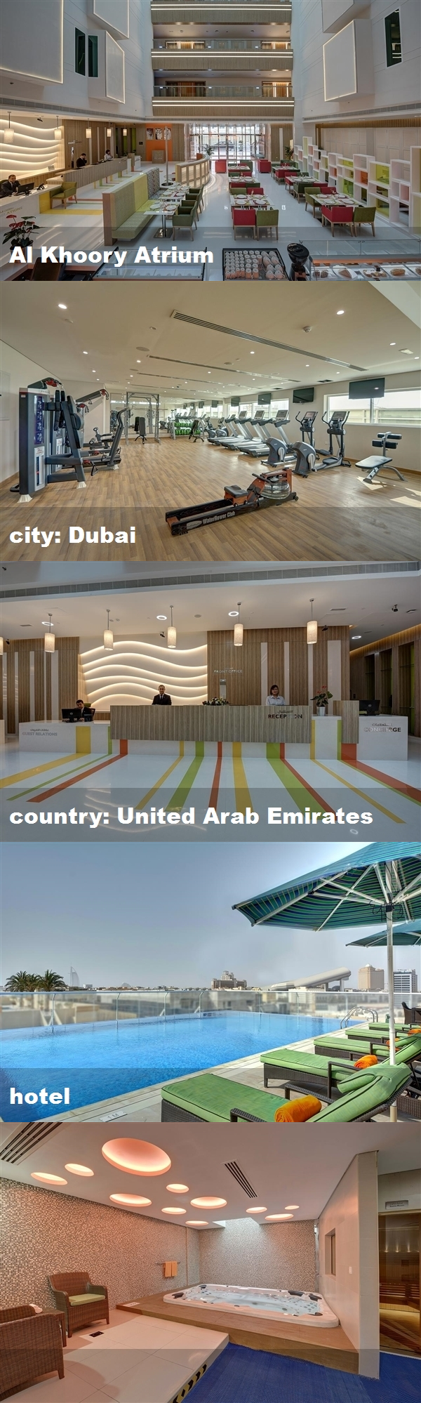 Al Khoory Atrium City Dubai Country United Arab Emirates